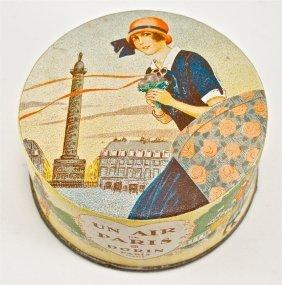 1925 Dorin Un Air De Paris Powder Box