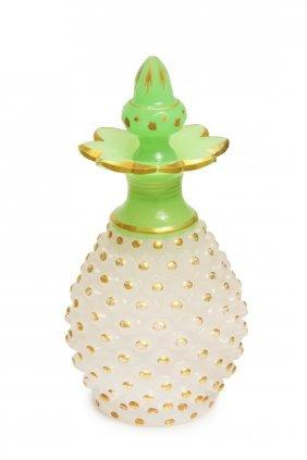 Bohemian Opaline Perfume Bottle