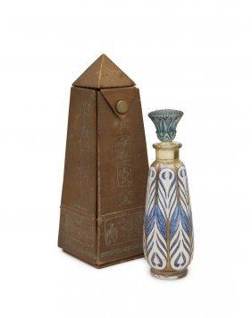 "1925 Baccarat ""egyptian Alabastron"" Bottle"