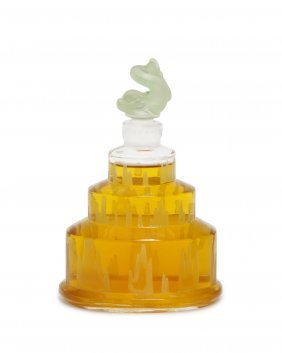 "1926 Baccarat ""la Cascade"" Perfume Bottle"