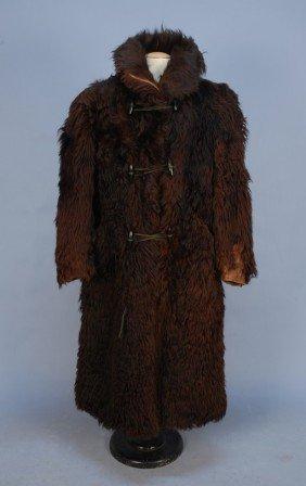 MAN'S BUFFALO FUR COAT, LEAK MFG. CO., 1890-1900.