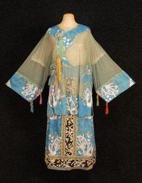 565 Lady Duff Gordon Lucile Ltd Chinese Silk Tunic Dre
