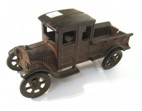 Cast Metal Delivery Truck.