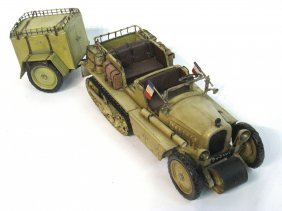 Model French Wwii Era Vehicle.
