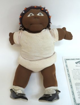 Original African American Cabbage Patch Doll