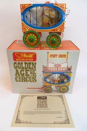 """Steiff """"golden Age Of The Circus"""" Dickie Bears"""