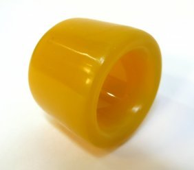 Yellow Jade Archer's Ring