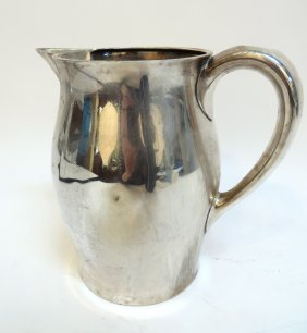 Sterling Paul Revere Pitcher By Caldwell And Co.