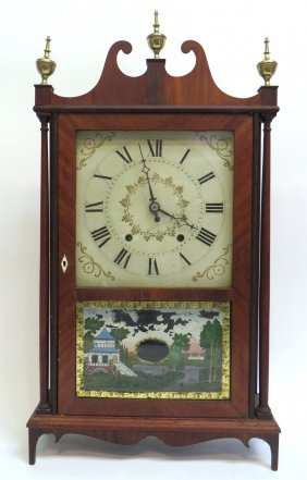 Early 19th Century American Shelf Clock