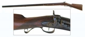 Percussion Smoothbore Muzzleloader Rifle