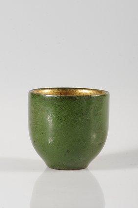 HENRI SIMMEN (1880-1963) Small Everted Stoneware Bo