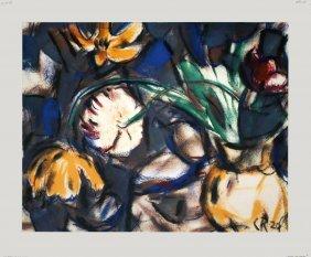 Rohlfs Tulpen (in Gelber Vase) Poster