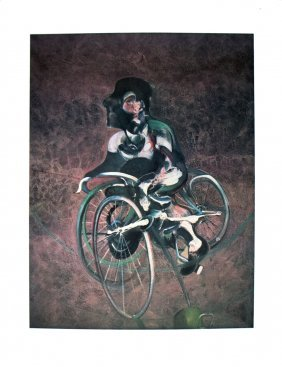 50 Bacon 1995 Georges A Bicyclette Posters