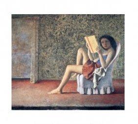 Balthus Katia Reading Poster