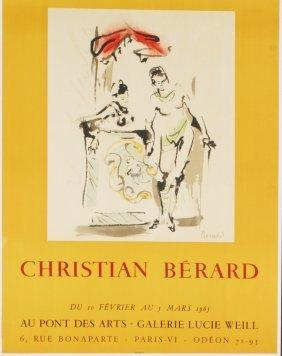 10 Berard 1965 Galerie Lucie Weill Mourlot Lithos