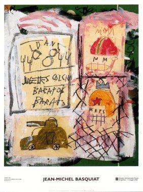 Basquiat Untitled Poster