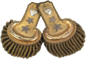 Civil War Major General Dress Epaulettes