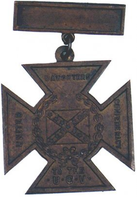 Civil War Confederate Southern Cross Of Honor