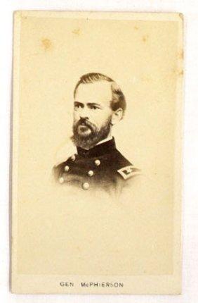 Civil War CDV Of General McPherson