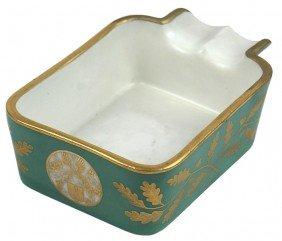 Hermann Goring Sevres Porcelain Ashtray