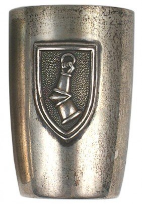 Hermann Goring Silver Schnapps Cup