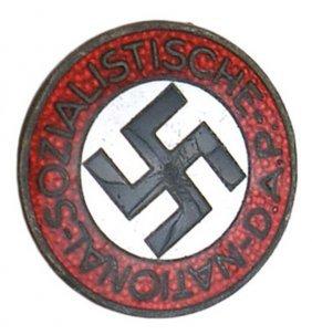 German WWII NSDAP Member Badge Pin