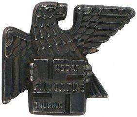 German WWII Gau Thuringen Badge 1936