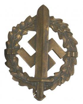 German WWII SA Sports Badge Bronze