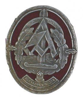 German WWII SA 1937 War Games Badge