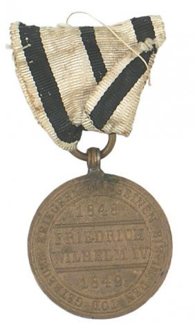 German 1848 Prussian War Medal