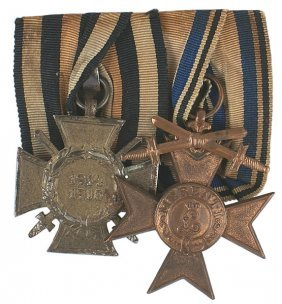 German WWI Medal Bar