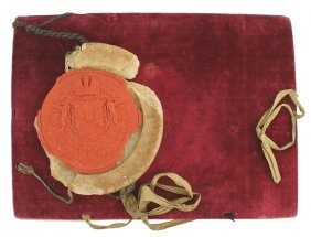 Holy Roman Empire Title Of Nobility 1674