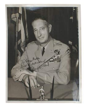 Formal Photograph Of U.s. Wwii General Mark Clark