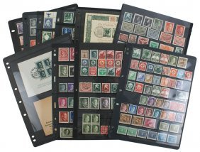 Third Reich Germany Philatelic Lot Covers Etc