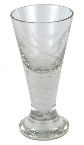 Imperial German Patriotic Crystal Glass