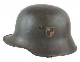 German Garde Du Korps M1916 Stahlhelm Helmet