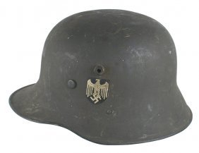 German Wwii Army M1917 Transition Helmet