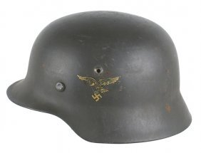 German Wwii Luftwaffe M1935 Helmet