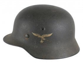 German Wwii Luftwaffe M1940 Helmet