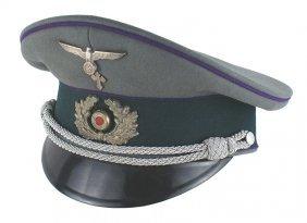 German Wwii Army Chaplain Peaked Cap