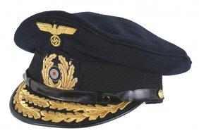 German Wwii Navy Vice Admiral Peaked Cap