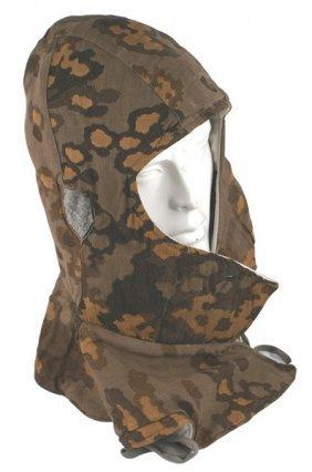 German Wwii Waffen-ss Camouflage Hood