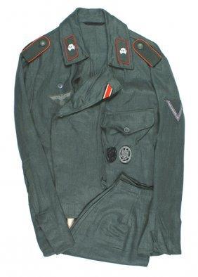 German Wwii Army Assault Gunner Uniform
