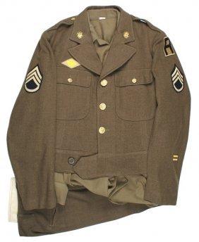 U.s. Wwii Monuments Men Uniform