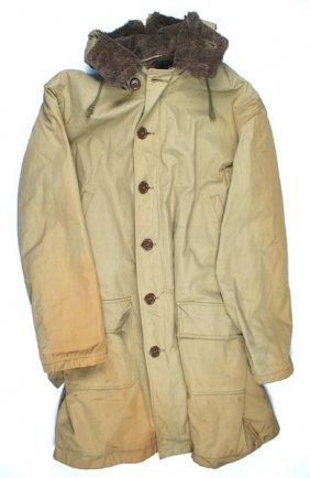 U.s. Army May 1941 Pattern Overcoat Parka