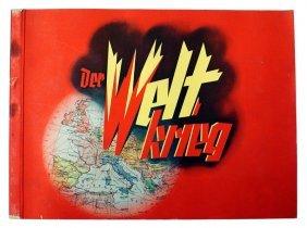 German Book Der Weltkrieg Cigarette Card