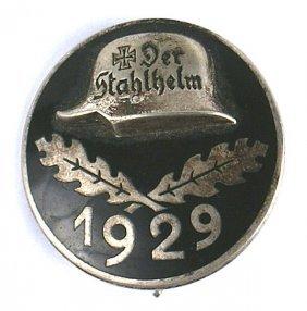 German 1929 Stahlhelm Badge