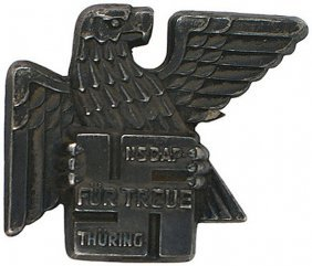 German Wwii Gau Thuringen Badge 1936