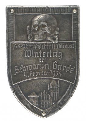 German Wwii Ss Shield Event In 1934