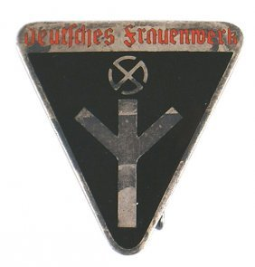 German Wwii Frauenschaft Badge